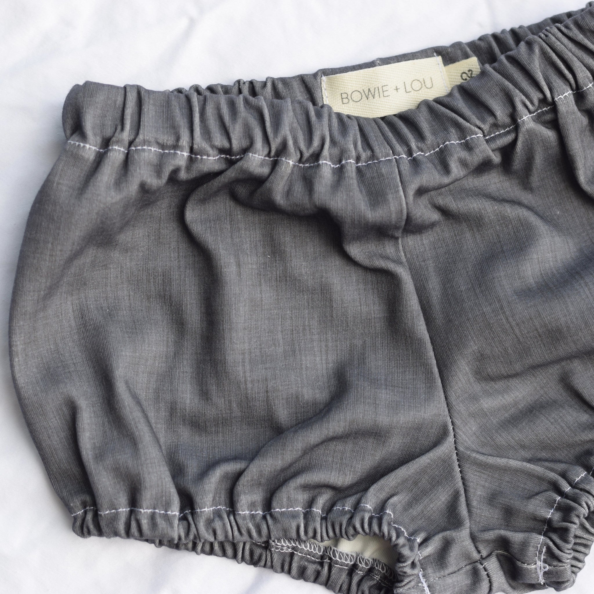 bloomers in organic chambray