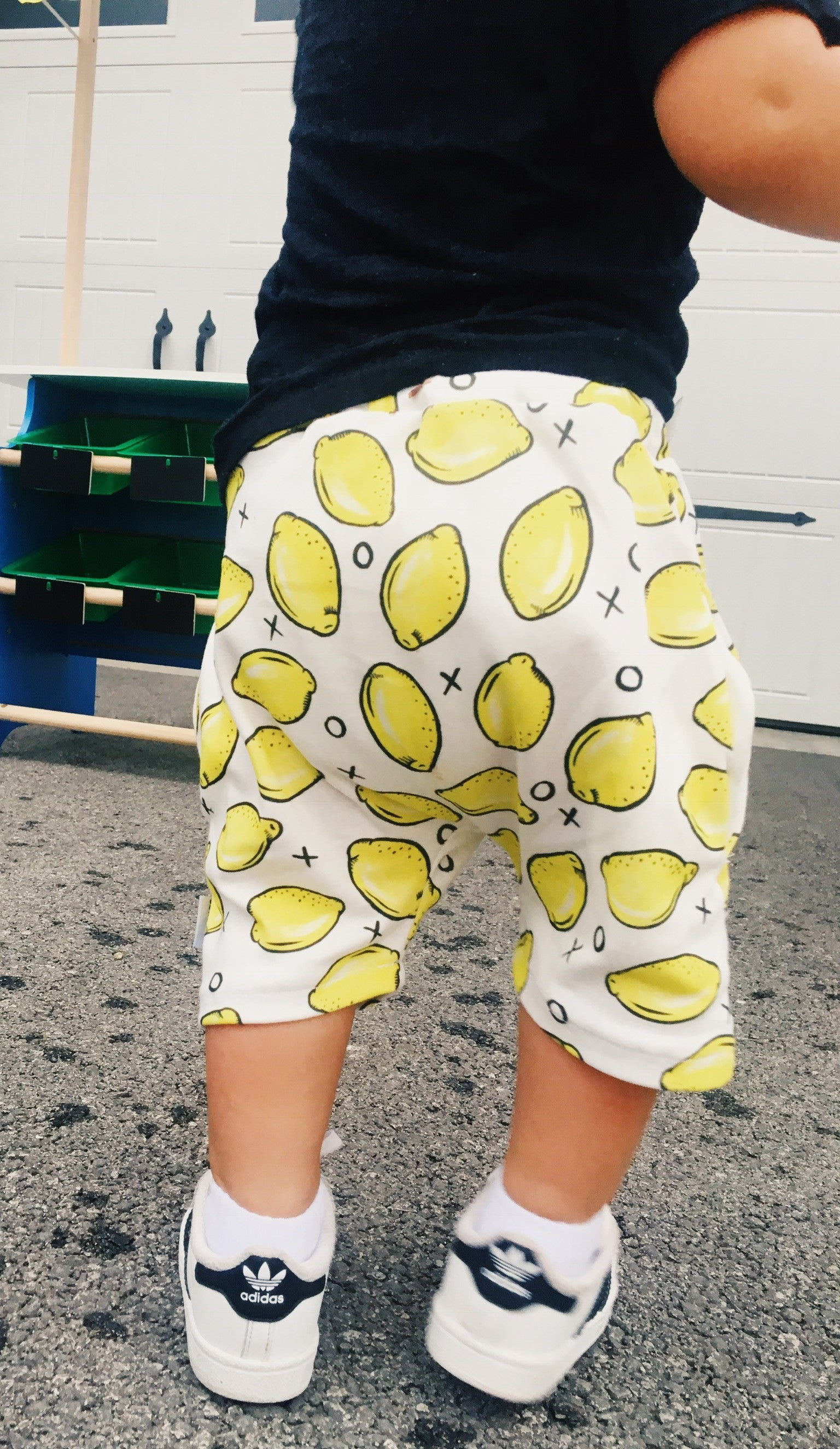 organic baggy pocket shorts - MORE PRINTS AVAILABLE