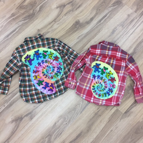 youth custom flannel