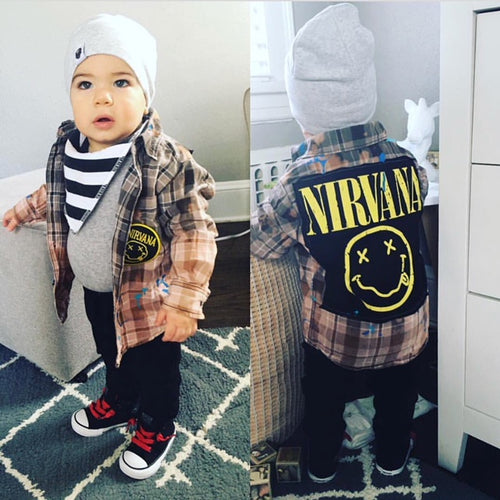 baby/toddler custom flannel