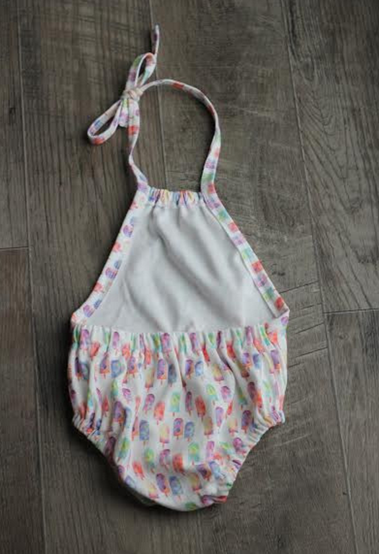 organic bubble romper - MORE PRINTS AVAILABLE