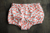 bloomers in organic flamingos