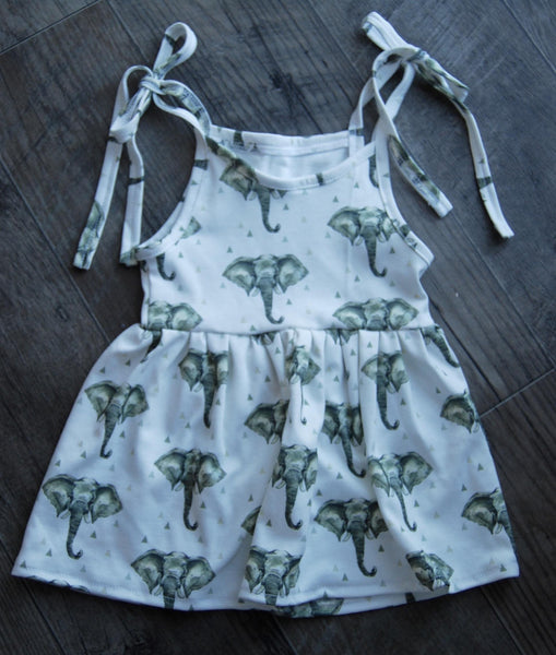 sundress in organic elephants