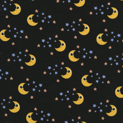 Good Night in Black: Kitschy Kawaii by RJR Fabrics