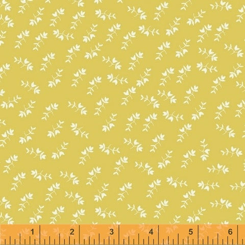 Petite Flowers in Yellow: Maribel by Anna Wrigley for Windham Fabrics