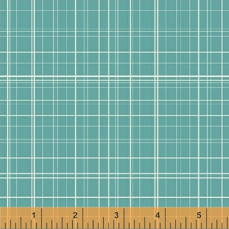 Grid in Turquoise: Maribel by Anna Wrigley for Windham Fabrics