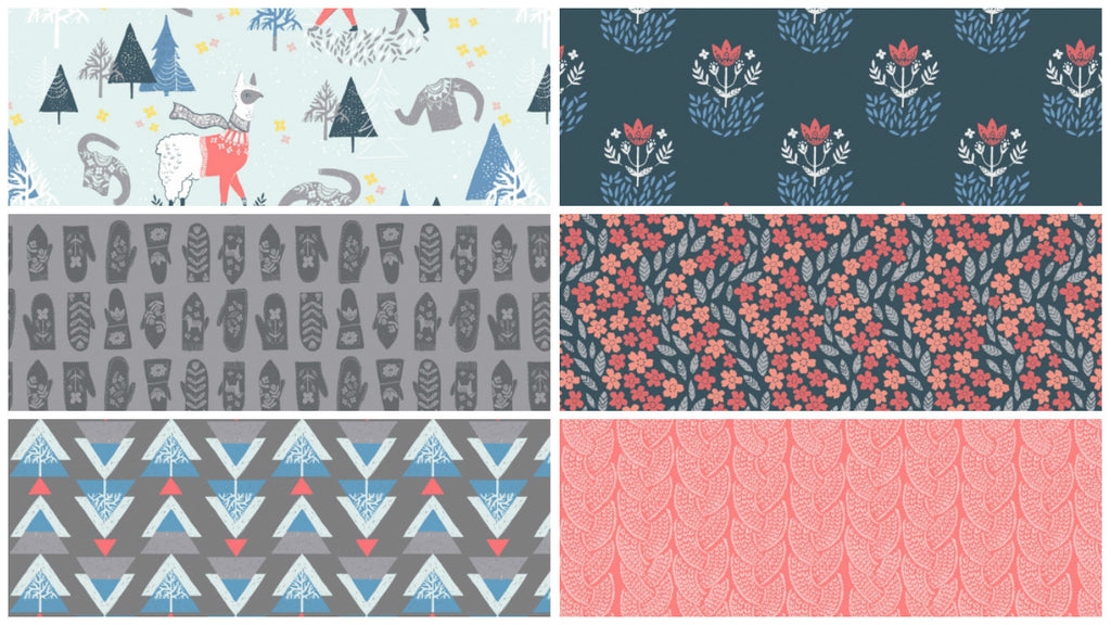 Snofall by Rae Ritchie Bundles - Zoey and Bean Fabrics - 1