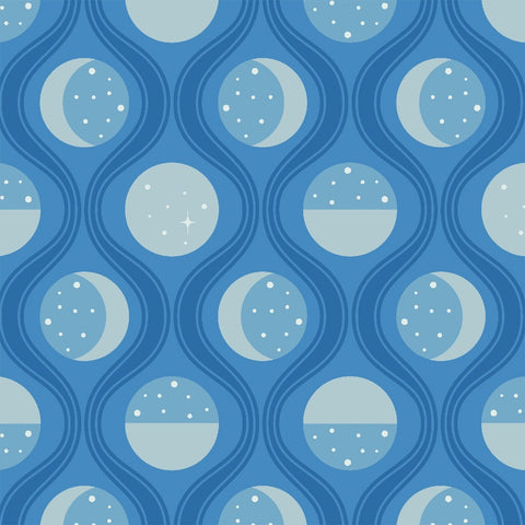 Lunar Tide in Interstellar: Luna Sol by Felice Regina for Windham Fabrics