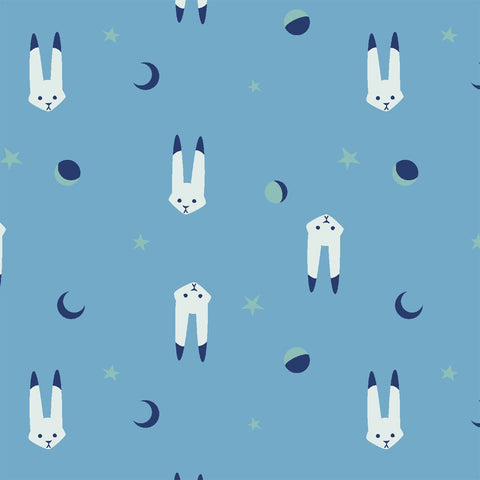 Lepus in Interstellar: Luna Sol by Felice Regina for Windham Fabrics