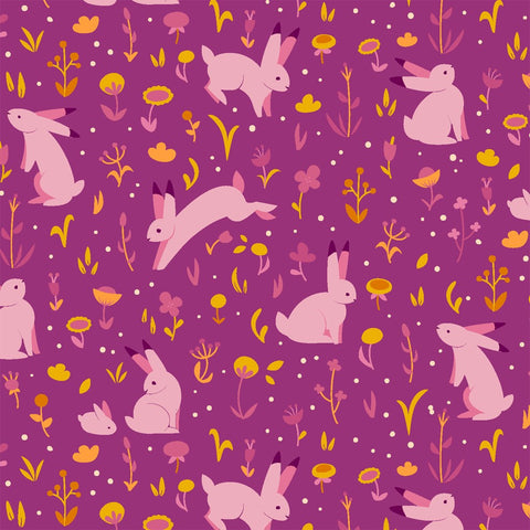 Moonlight Meadow in Sunset: Luna Sol by Felice Regina for Windham Fabrics