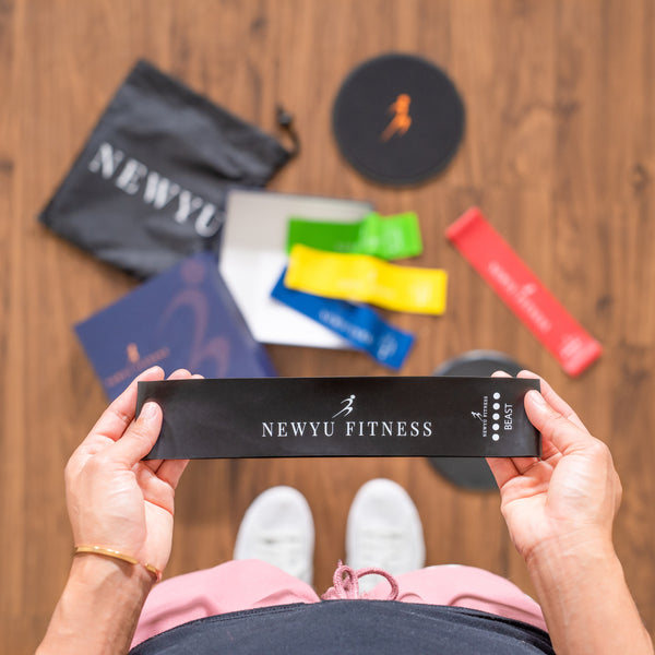 NewYu Fitness Exercise Bands and sliders
