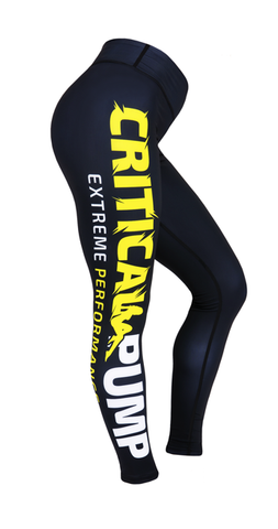 Critical Leggings - Classic Yellow - Critical Pump