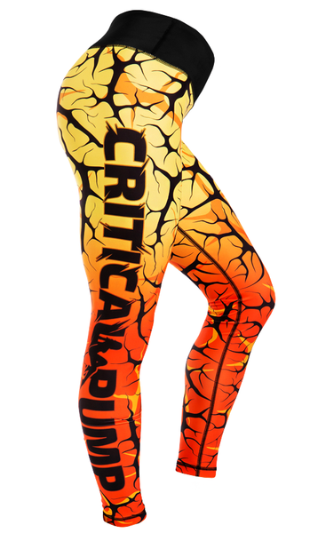 Cracked Leggings - Dawn - Critical Pump