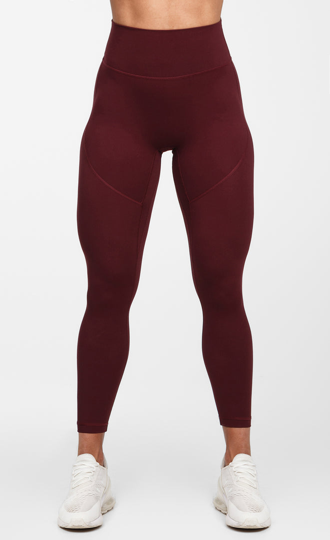 Divine Leggings - Maroon - Critical Pump