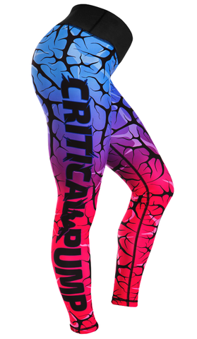 Cracked Leggings - Dusk - Critical Pump