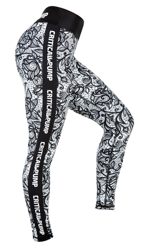 Floral Leggings - Critical Pump
