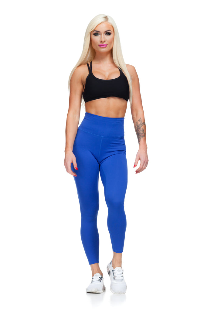 Figure Leggings - Royal Blue - Critical Pump