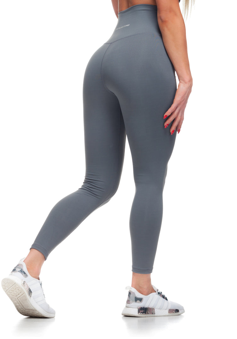 Figure Leggings - Steel Grey - Critical Pump