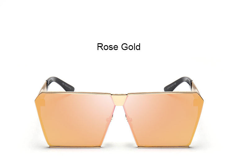 Mirrored Square Sunnies - 7 Color Options