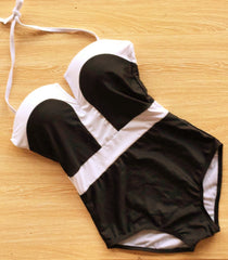 Black and White 1 Piece - Small to XXL