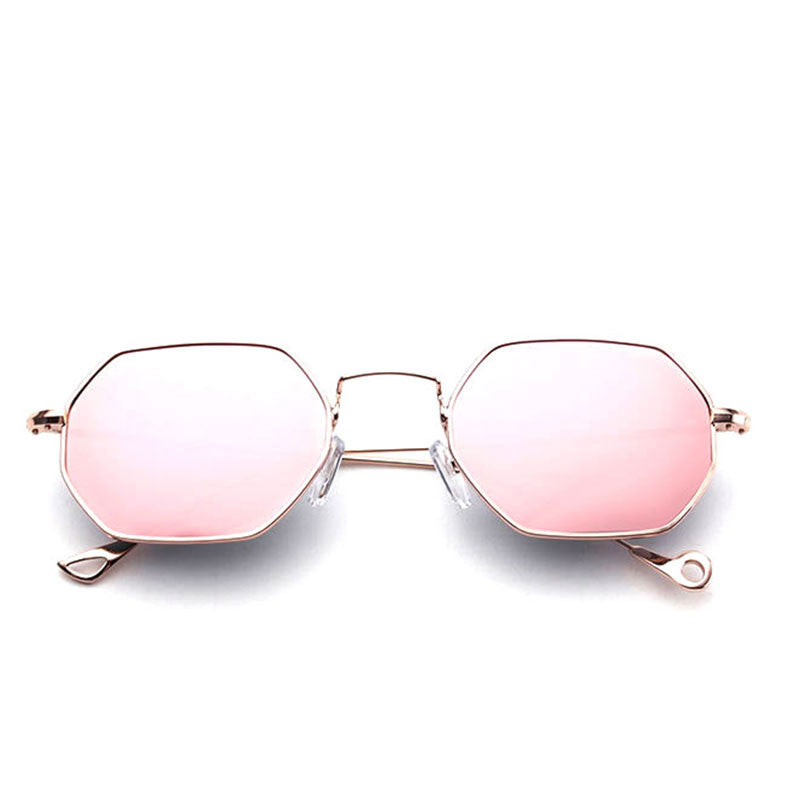 The new trend Hexagon Square Clear Sunglasses - Also available in mirored
