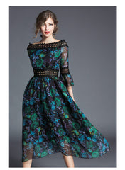 Bohemian Chiffon Day Dress - 2 color options - Use the discount code MINE to make it $49