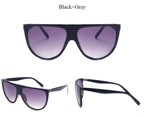 Oversized Thin Square Eye Wear - Many Color Options