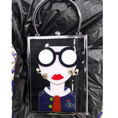 Funky Lady Handbag Black