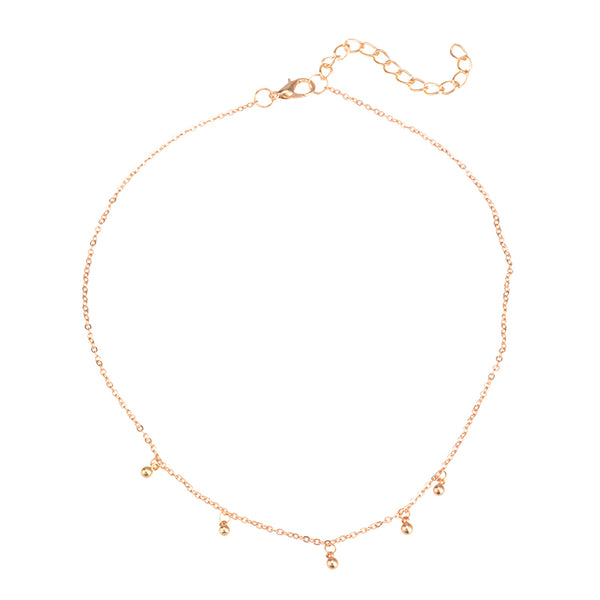 Simple and Delicate Gold or Silver Chain Necklace