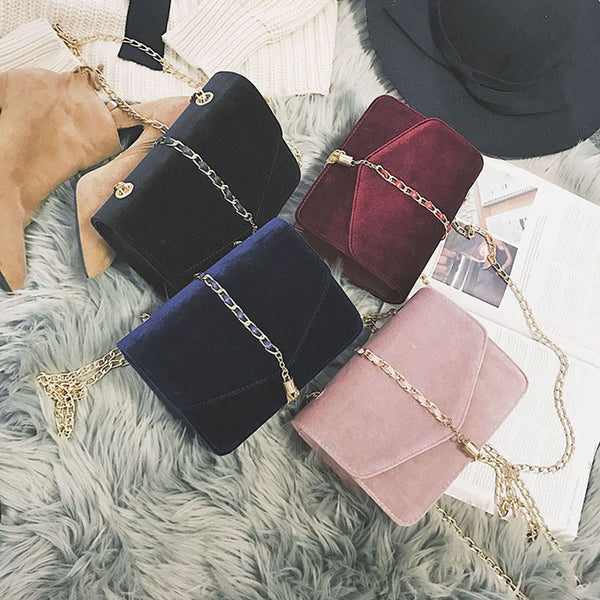 The perfect Seasonal Handbag - Velvet - Maroon, Navy, Black and Blush