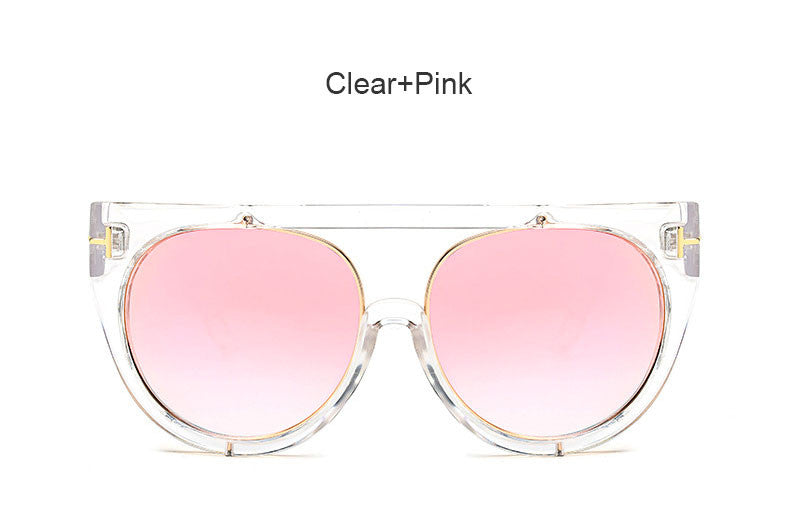 Clear Square Sunglasses - 7 Color Options