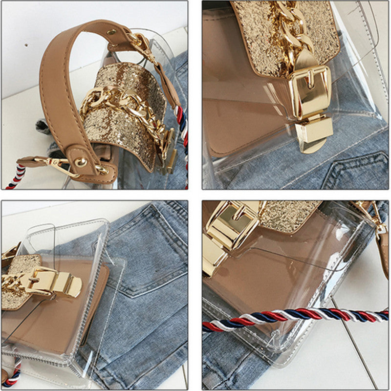 Transparent Handbag - Choose your interior color