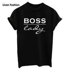 Boss Lady Famous Tee - Black, White or Gray