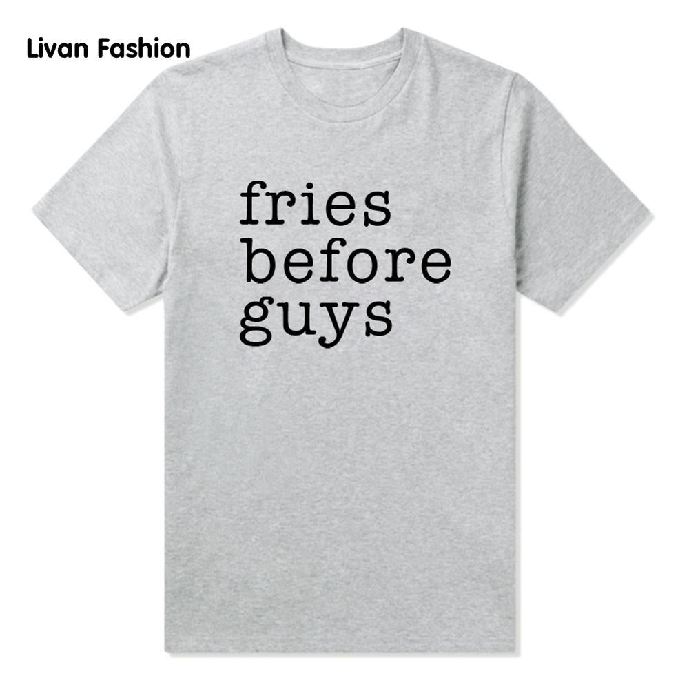 Fries Before Guys Famous Tee - Black, White or Gray