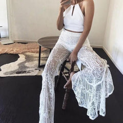 Lace Transparent Beach Pant - Soft Lace Transparent Pant