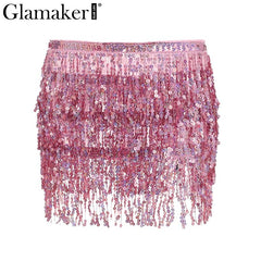 Everyones Must Have Party Skirt - Sequin Mini Skirt - Sequin Short Skirt