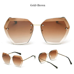 Newest on the Street Clear - Square Sunglasses