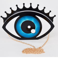 The Eye Acrylic Handbag eye clutch bag