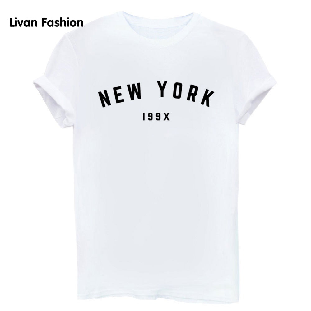 New York 199X Famous Tee - Black, White or Gray