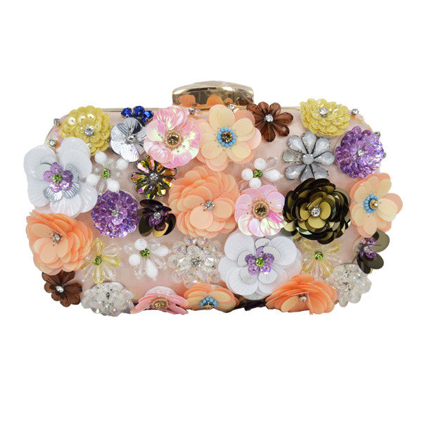 A walk in Paris Flowers Handbag