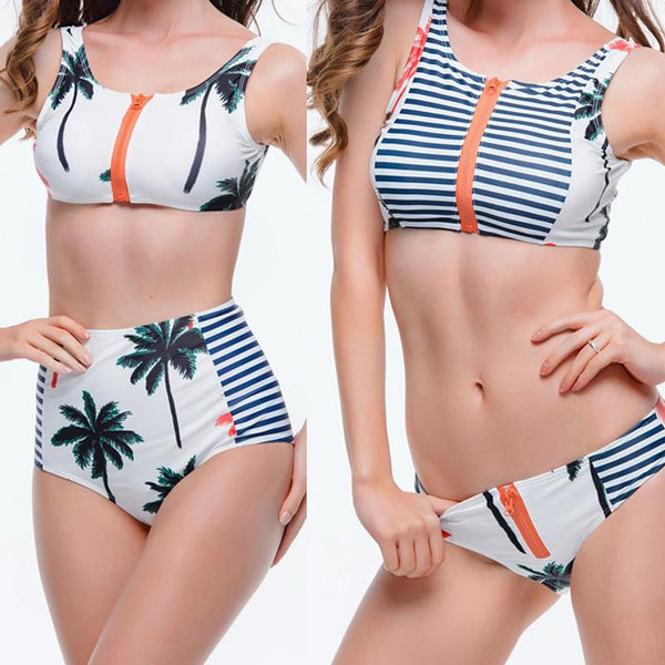 Miami Bikini - 2 Design Options - Zip Up