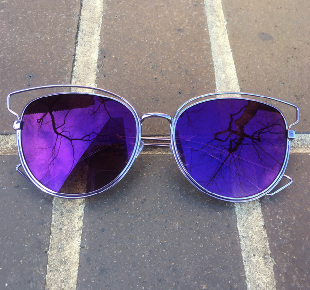 Mirrored Metal - Double Purple - EO20 - PURPLE