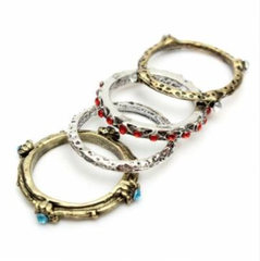 Ring Set - Bohemian - 4 Piece Set