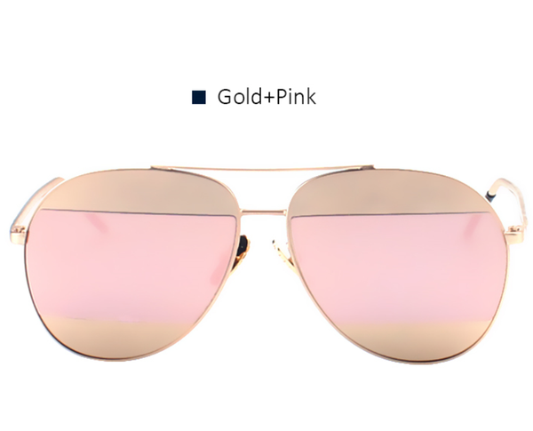 Split Aviators - Gold & Pink - X159 - GOLDPINK - No. 2