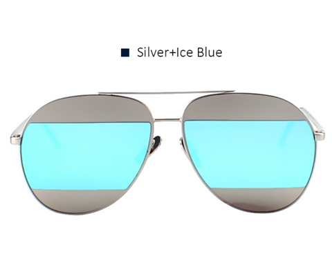 Split Aviators - Iced Blue - X159 - SILVERBLUE - No. 4