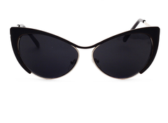 Ultimate Cat Eye - Black with Smoke Lens - X157 - BLACKGRAY