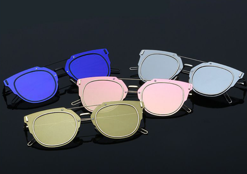 Bryant - Black w/ Blue Mirror Lens - D072 - BLACKBLUE