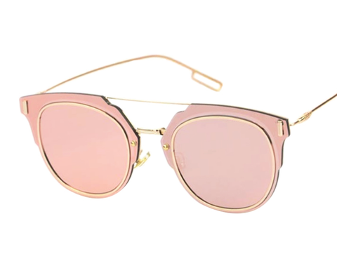 Bryant - Rose Gold Lens - D072 - GOLDPINK