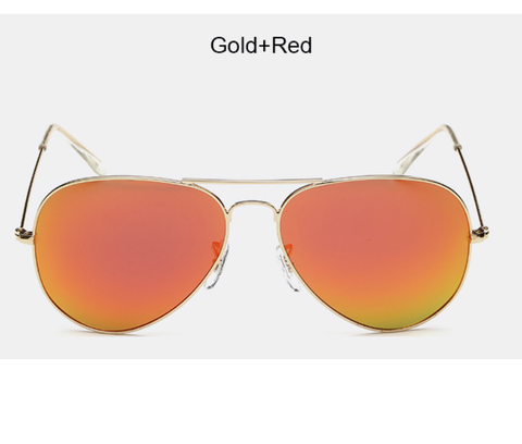 Chelsea Gold w/ Magenta Red Lens - AW111 - GOLDRED