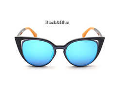 Fender Goes Hallow - Black w/ Blue Lens - E013 - BLACKBLUE